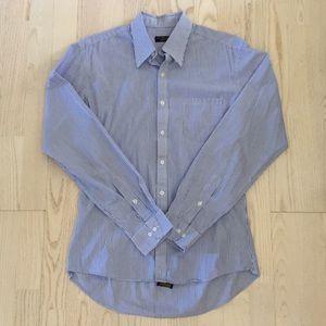 Club room slim fit dress shirt